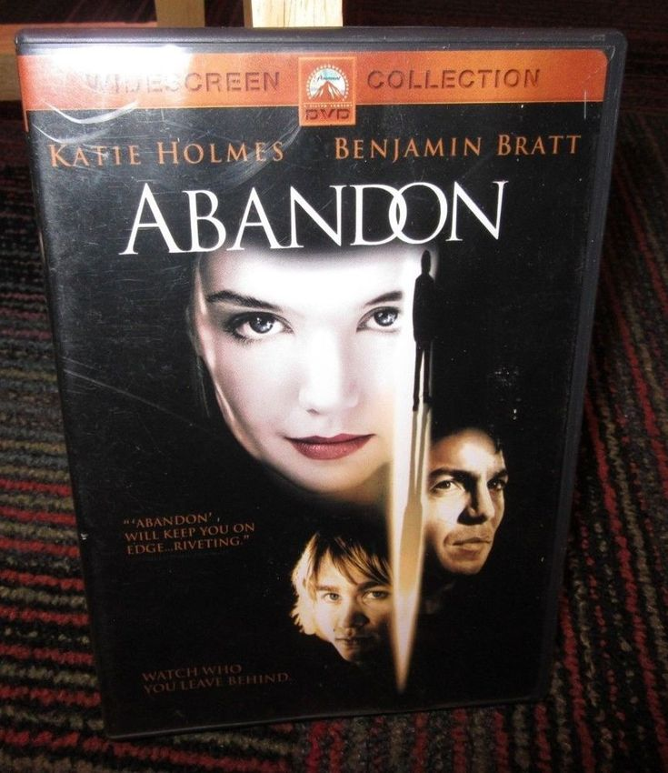 ABANDON DVD MOVIE, KATIE HOLMES, BENJAMIN BRATT, CHARLIE