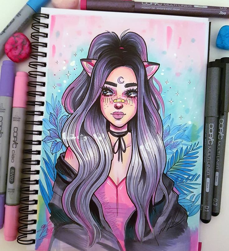 Photo of Had the urge to draw with my Copic Markers today! I'm getting so much more c…