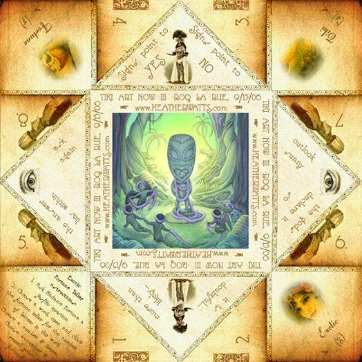 Paper Fortune Teller/Cootie Catcher via Heather Watts http://www.heatherwatts.com/?page_id=381