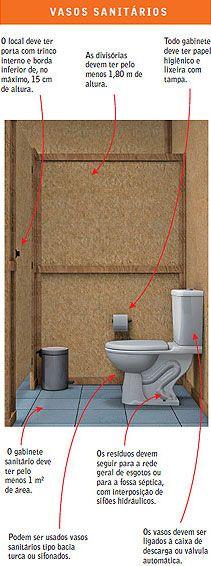 Banheiro de obra | Equipe de Obra
