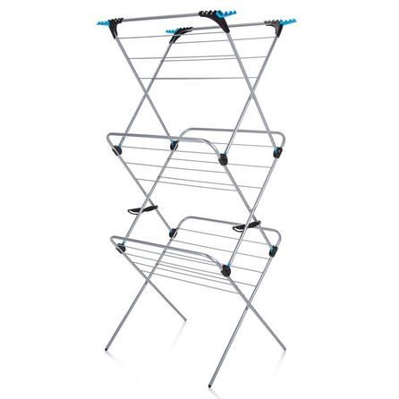 Minky Plus Blue Metal Large 3 Tier Indoor Airer