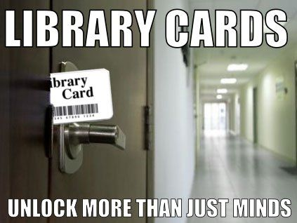 Library Card Unlock More Than Just Minds