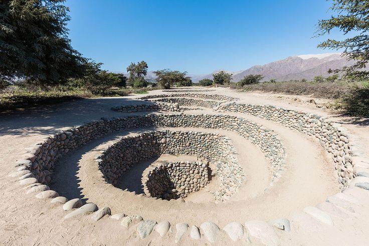 Acueductos subterráneos de Cantalloc, Nazca, Perú, 2015-07-29, DD 09 - Perú - Wikipedia, la enciclopedia libre