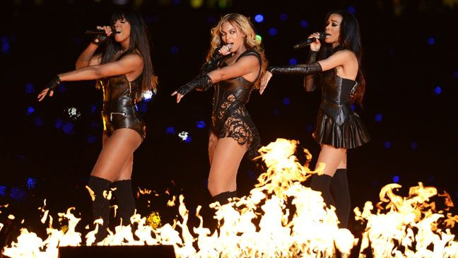 Perdeu Beyoncé arrasando no Super Bowl?    Vêm ver no blog.