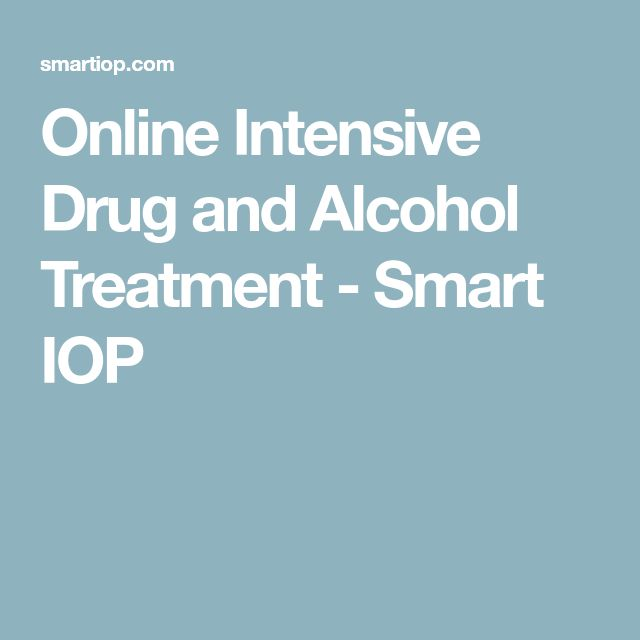 Online Intensive Drug and Alcohol Treatment - Smart IOP