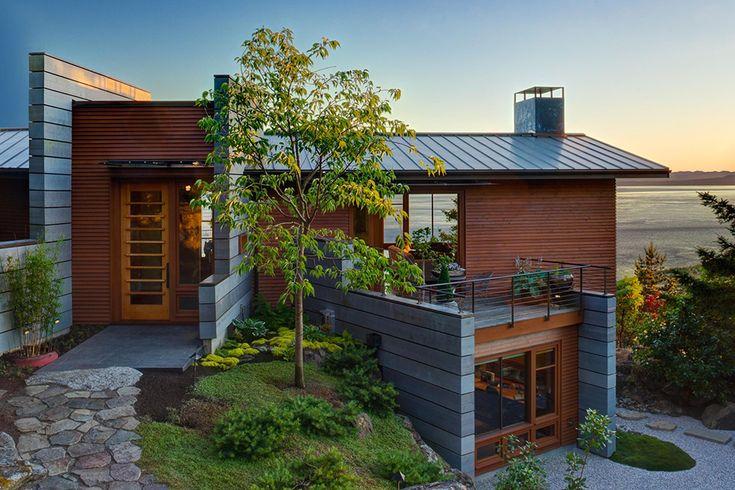 Частный дом на острове Сан Хуан в штате Вашингтон