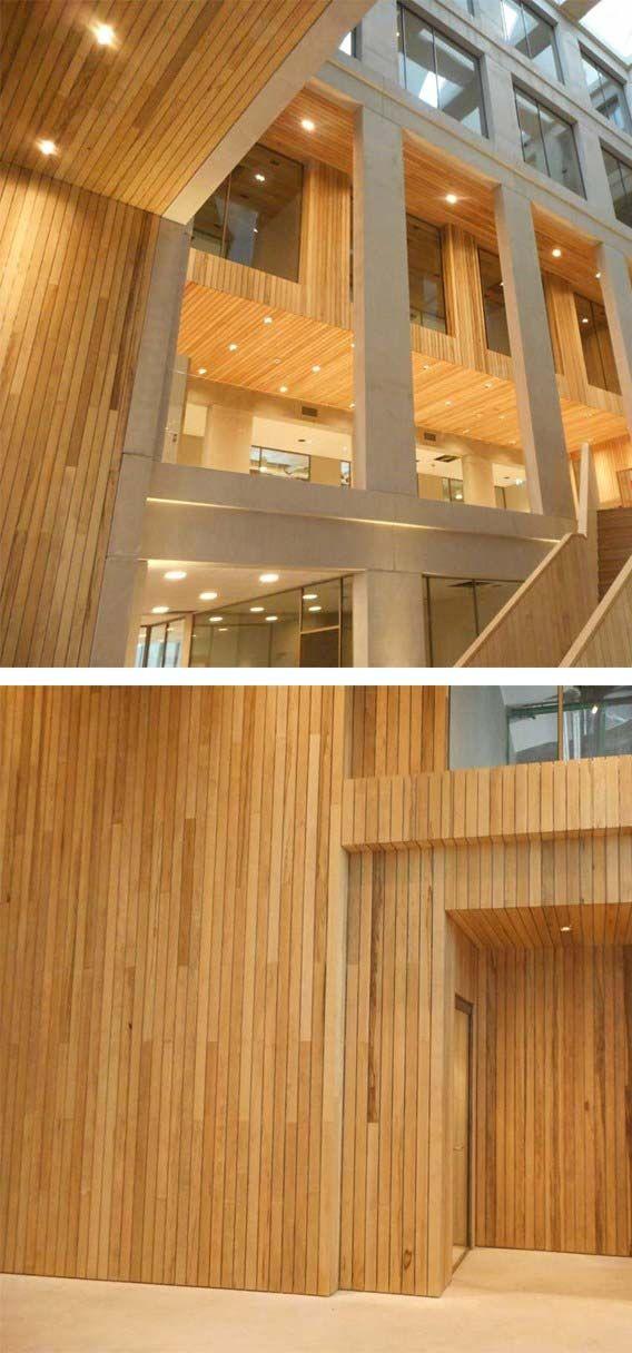 1000+ images about Wand en Plafond van hout  Houten wandbekleding ...