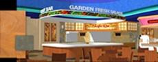 Route 66 Casino, Buffet 66 Buffet interior design, theming, decor, and signage - Albuquerque, NM