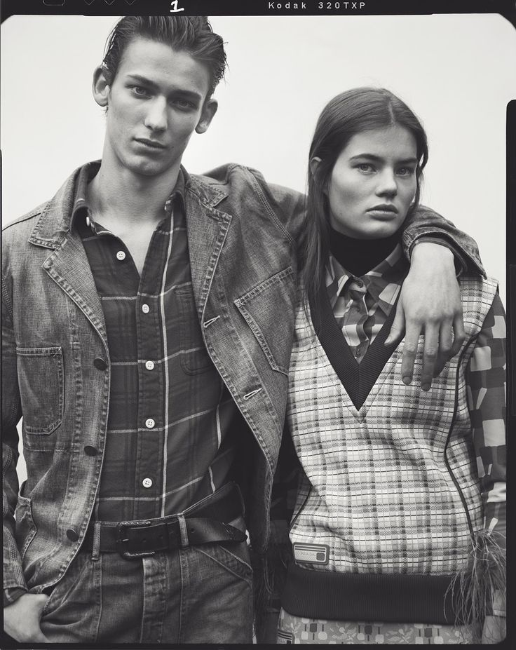 EDITORIAL: Myrthe Bolt & Christopher Einla in WSJ. Magazine April 2017 by Ben Weller —  Good Jeans — Photography: Ben Weller,  Model: Myrthe Bolt & Christopher Einla,  Styling: Margherita Moro,  Hair: Chi Wong,  Make-Up: Niamh Quinn.