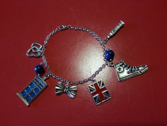 Doctor Who Inspired Bracelet di FollowTheGrace su Etsy