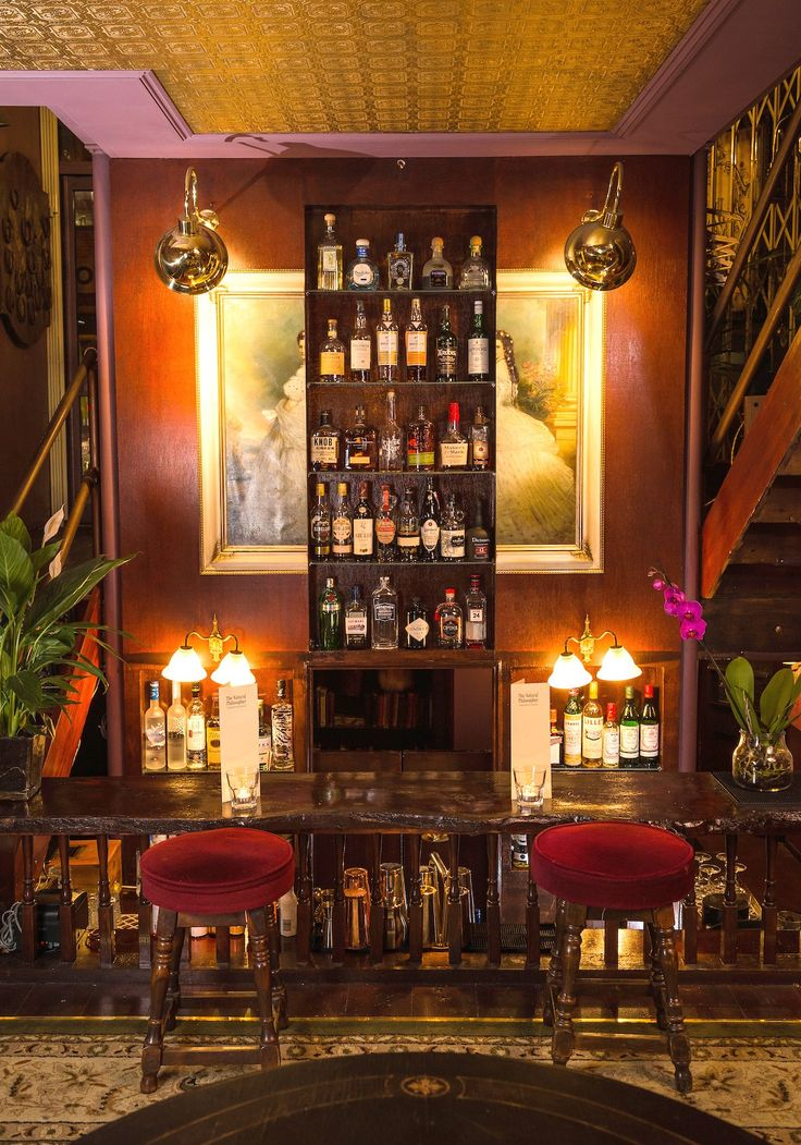 You'll feel transported to a Victorian scientist's den when you step foot in the Natural Philosopher, one of London's must-see bars.