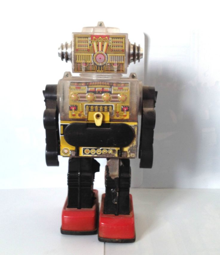 Vintage Toy Robots : Best images about robots on pinterest lost in space
