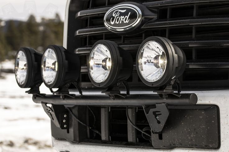 These KC Hilites look great and work even better! #stage3motorsports #f150 #ford #liftedtrucks