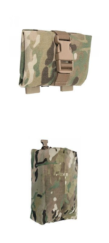 Tactical Molle Pouches 177900: Tactical Tailor Roll Up Dump Pouch - Multicam BUY IT NOW ONLY: $33.3