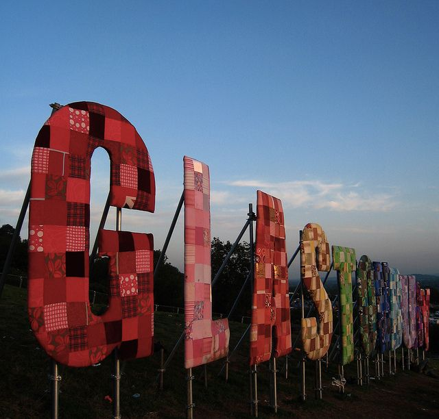 Glastonbury Festival - my favourite place in the world & my spiritual home :)