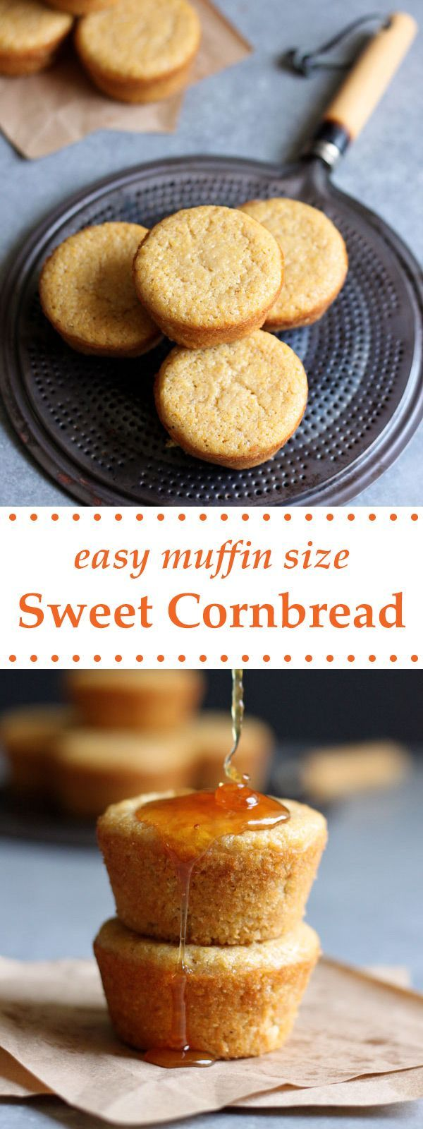 This easy sweet cornbread recipe is the perfect accompaniment for all your summer backyard barbecues, baked in muffin tins for individual size servings.