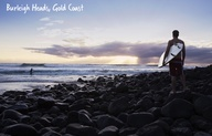 Gold Coast Beach Guide   Burleigh Heads is where spectacular land and sea natural attractions meet. The world renowned surf conditions lapped against the Burleigh Heads National Park separately only by the pandanus studded headland.
