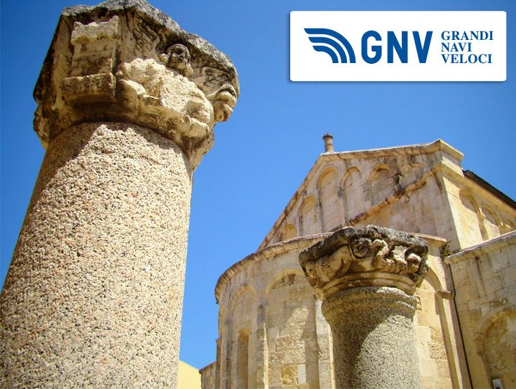 Would you like to visit this roman column in front of the Basilica di San Gavino? #portotorres #sardinia #italy #sangavino  Discover routes from/to Sardinia here: http://www.gnv.it/en/ferries-destinations/sardinia-porto-torres.html