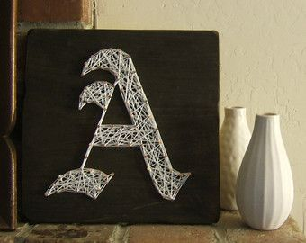 How To Make String Art Letters? - All DIY Masters