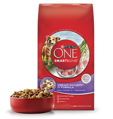 Vibrant Maturity® +7 - Senior Dog Food - Purina ONE® SMARTBLEND®