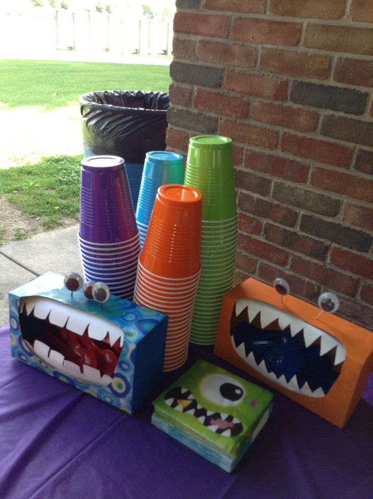 Monster Birthday Decorations, Monster Birthday Party