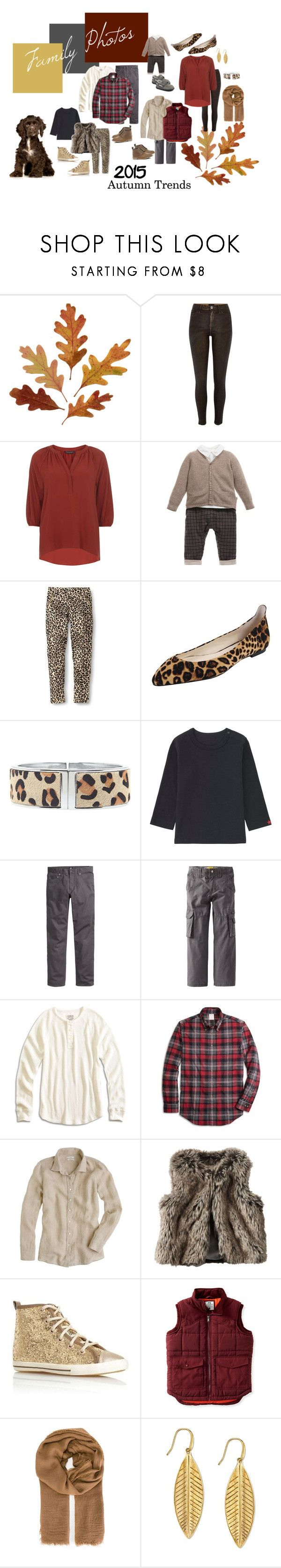 """""""2015 Autumn Family Photo Trends"""" by andreahurley ❤ liked on Polyvore featuring River Island, Dorothy Perkins, Bettye Muller, Lane Bryant, Uniqlo, H&M, Lucky Brand, Brooks Brothers, J.Crew and Carter's"""