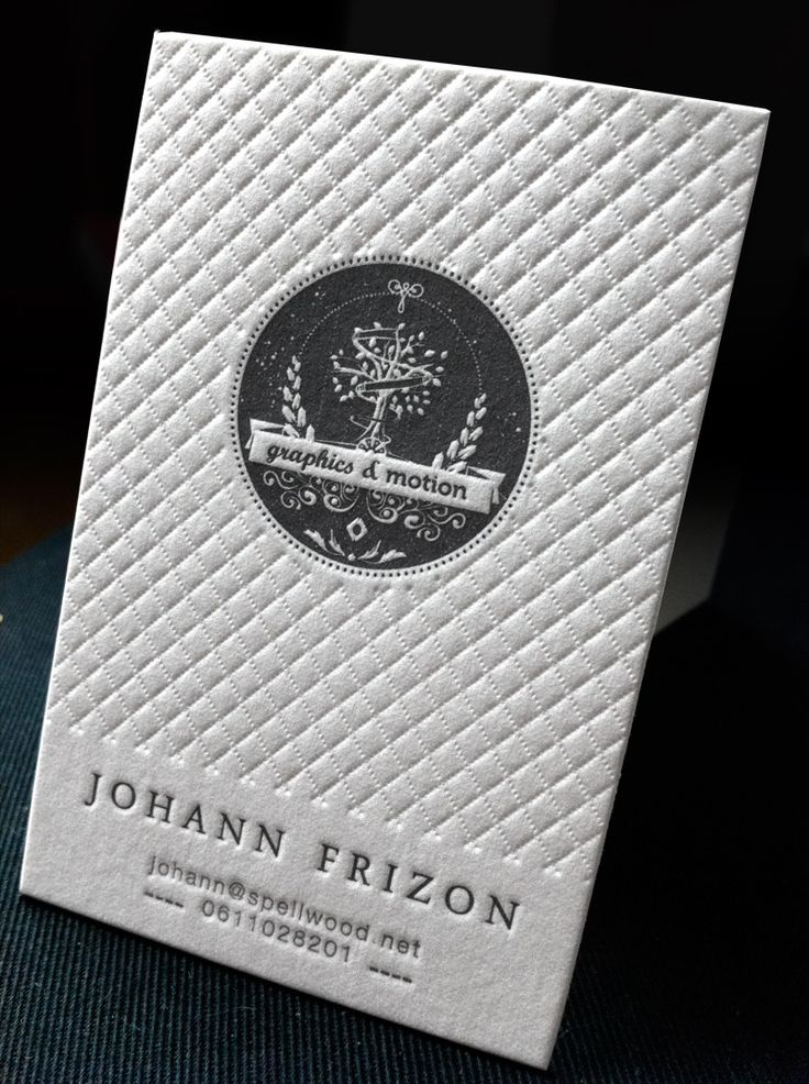 Best 25+ Embossed business cards ideas on Pinterest Letterpress - letterpress business card