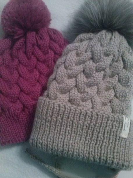 шапка косами с градиентом шапочки шапочка вязаные шапки и вязание