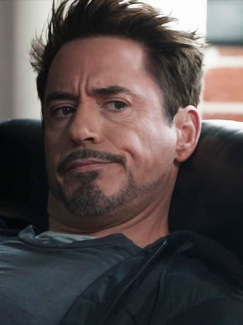 "RDJ as Tony Stark in the ""stinger"" ending to ""Iron Man 3"""