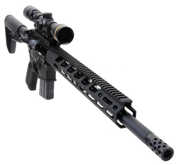 Ruger's Bigger Boomer AR-556 MPR 450 Bushmaster | Real Guns
