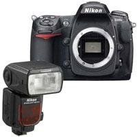 "Nikon D300S 12.3 Megapixels SLR Digital Camera Body with 3"" LCD, - Bundle - with Nikon SB-910 TTL AF Shoe Mount Speedlight, USA Warranty by Nikon. $2196.95. The Nikon D300S SLR Digital Camera is Nikon's remarkably creative DX-format digital-SLR flagship. Designed for professionals and other serious photographers who require an extra measure of agility, the D300S delivers phenomenal speed from its smart, responsive body. Its rugged performance inspires confidence in extreme enviro..."