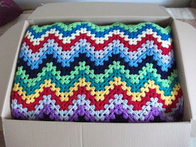 Granny Ripple * I Love this!: Crochet Blankets, Afghans Throws Blankets, Creative Crochet, Colour Inspiration, Blankets Rugs Granny, Granny Ripple, Blanket Ideas, Creative Things, Craft Ideas