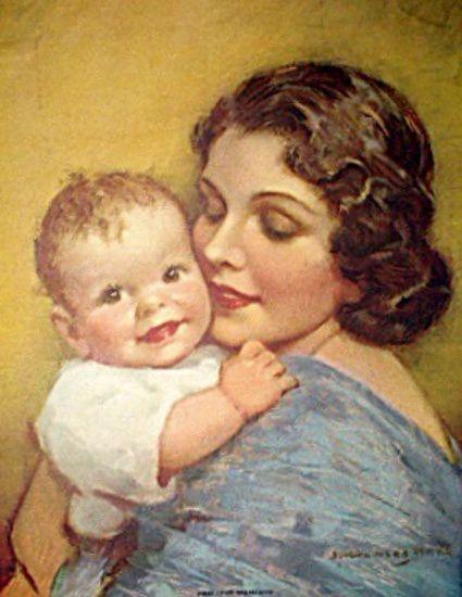vintage ladies home journal calendar