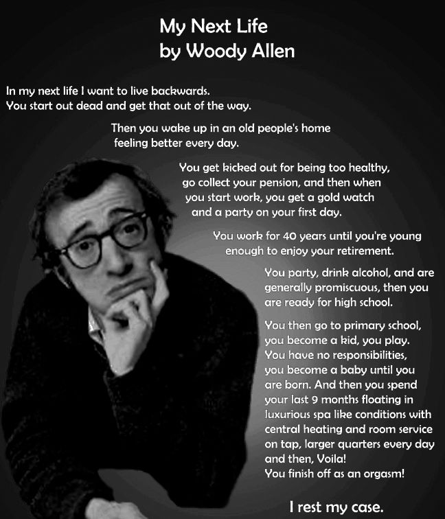 25+ Memorable Woody Allen Quotes | the perfect line