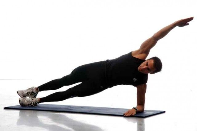 Core run plancha lateral