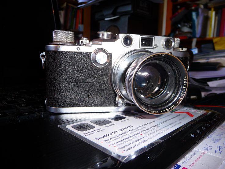 Leica IIIc 1940/41 red Curtain SOORE Summitar 5cm 1940