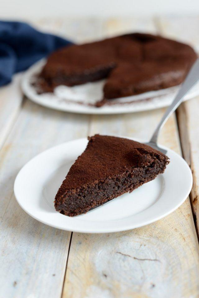 Saftiger Schokoladen Mandel Kuchen Rezept Schoko Mandel Kuchen Kuchen Rezepte Kaffee Und Kuchen