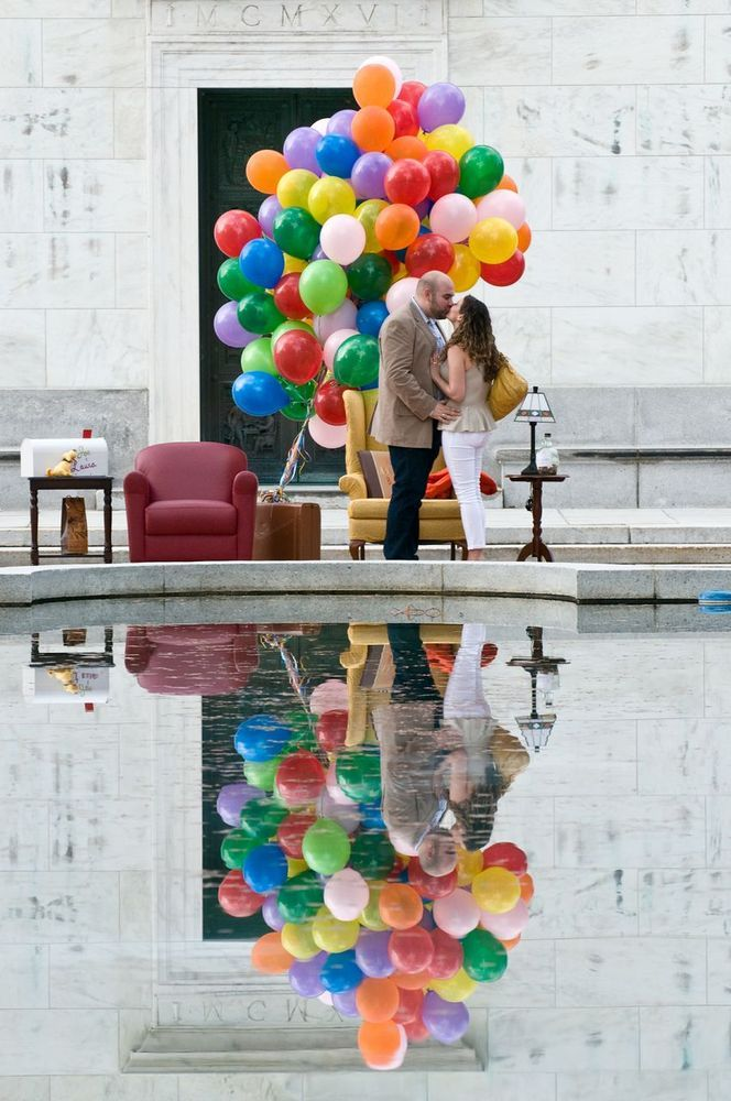 """""""Up"""" Proposal! - How cute!"""