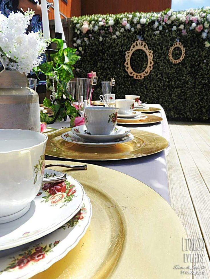 TEA PARTY SET UP LIONESS CREATIVE EVENTS