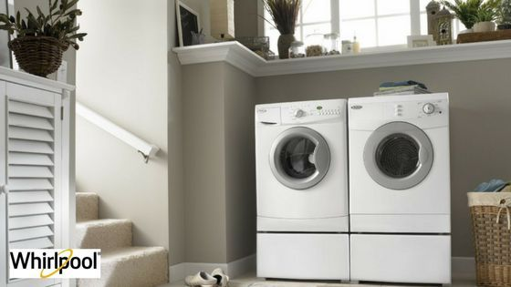 Make your laundry day more relaxing with the perfect #laundryset! Buy your #appliances today and save up to $489 on a #Whirlpool #washer and $478 on a #Whirlpool #dryer.