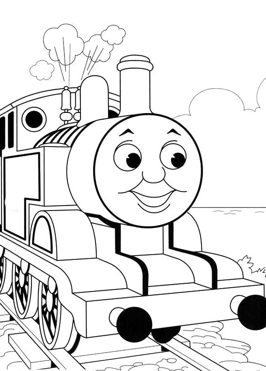 Photos Thomas The Train Coloring Pages Kids wheschool