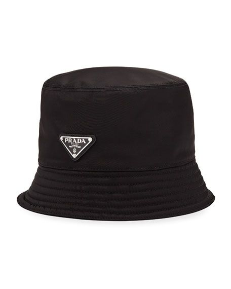 7c64654f PRADA MEN'S NYLON BUCKET HAT WITH LOGO. #prada | Prada | Prada men ...