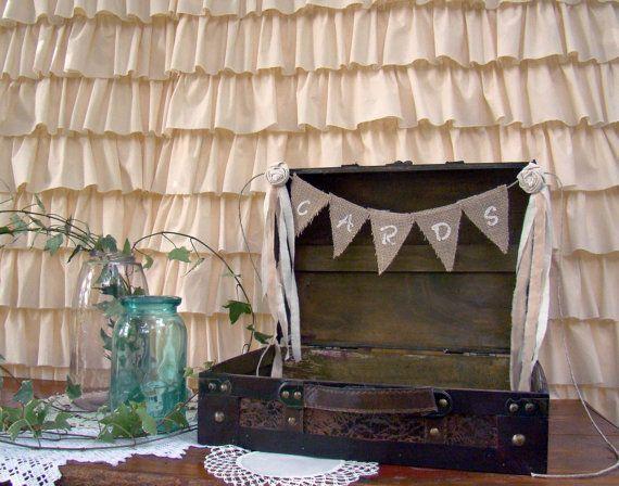 Wedding Card Holder Wedding Card Suitcase Medium by TwiningVines