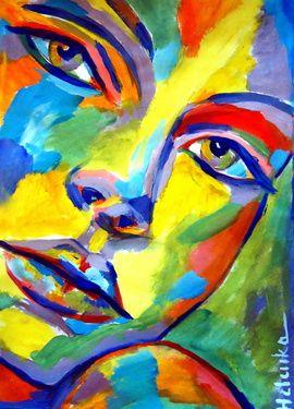 "Saatchi Online Artist Helena Wierzbicki; Painting, """"Keep me company"""" #art"