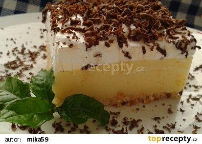 Nepečené řezy recept - TopRecepty.cz