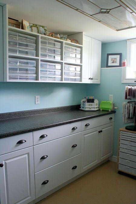 786 best scrap room / craft room organization images on Pinterest ...