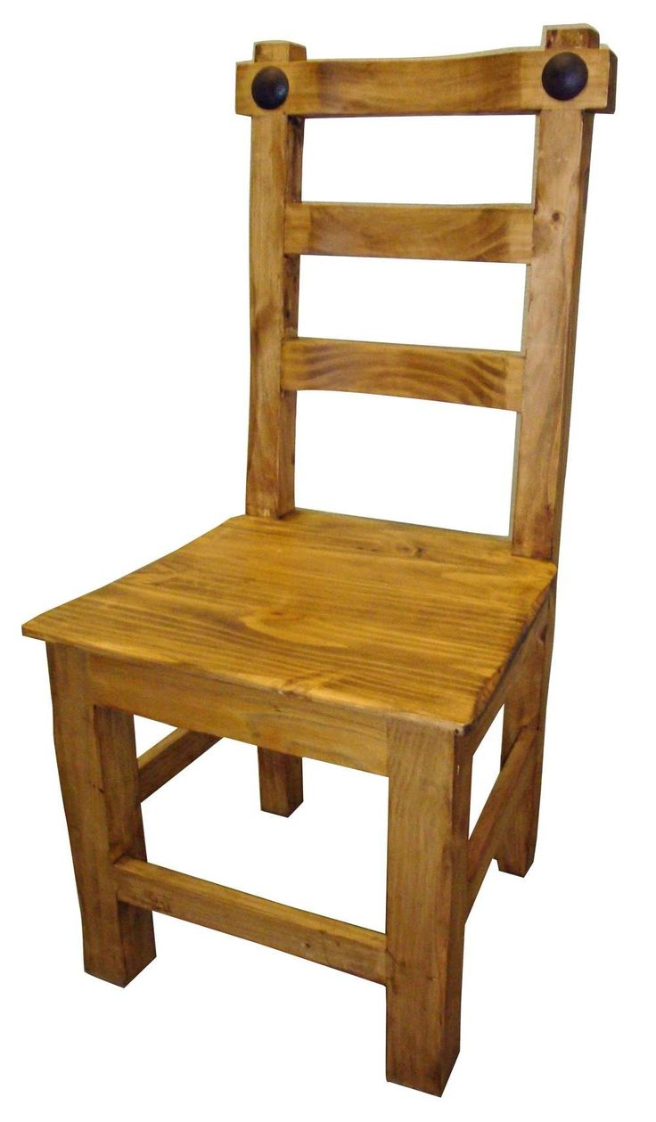Hacienda Mexican Pine Dining Chair Hacienda Style