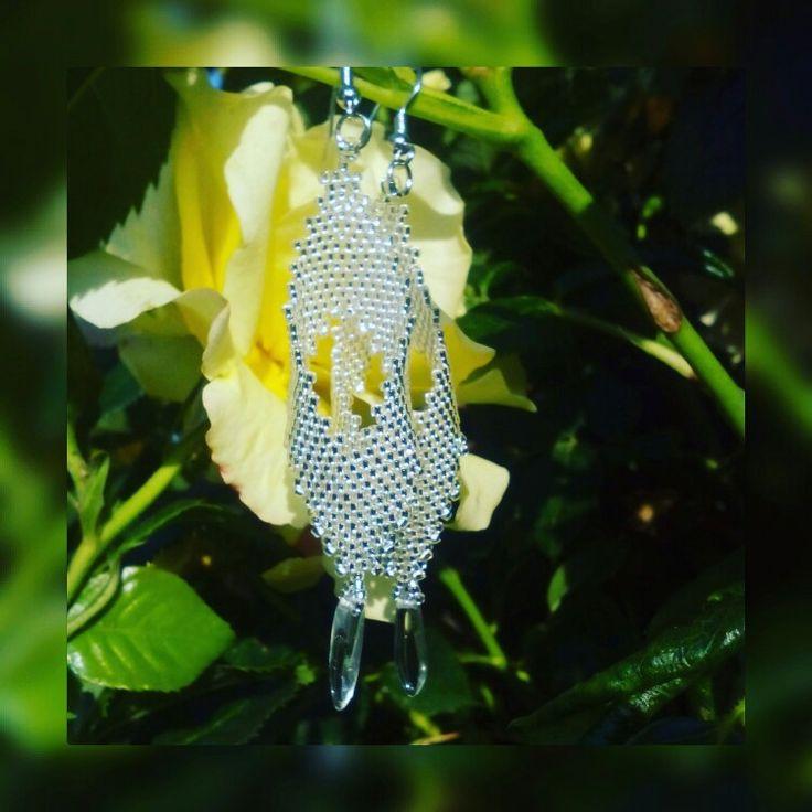 #nausnice #earring #koralky #beads #jewelry
