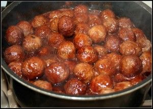 Sweet and Sour Meatballs - Gluten Free, Dairy Free | Living with Food Allergies and Celiac Disease