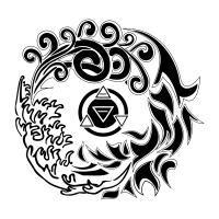 Tatuaggio di Quattro Elementi, Equilibrio tattoo - custom tattoo designs on TattooTribes.com